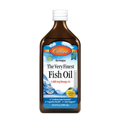 Carlson Labs Cardiovascular Support - The Very Finest Fish Oil 1600