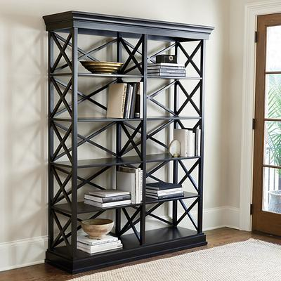 Bourdonnais Double Bookcase - Tall - Ballard Designs