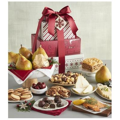 Tower Of Treats Deluxe Holiday Gift
