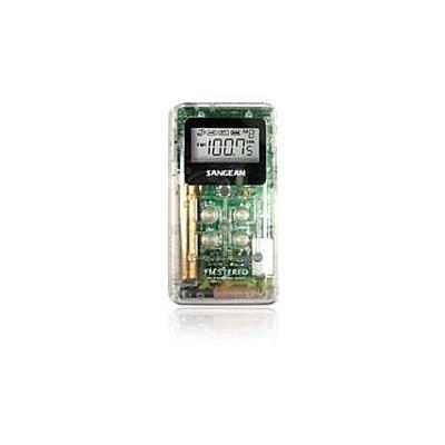 SANGEAN DT-120 CLEAR POCKET AM/FM DIGITAL RADIO (CLEAR)