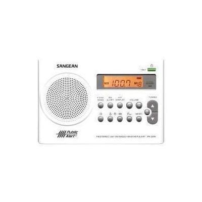 SANGEAN PR-D9W PORTABLE AM/FM/NOAA ALERT RADIO WITH RECHARGEABLE BATTERY