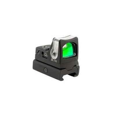 Trijicon ruggedized miniature reflex sight 9 moa dual illuminated with rm34w weaver rail mount