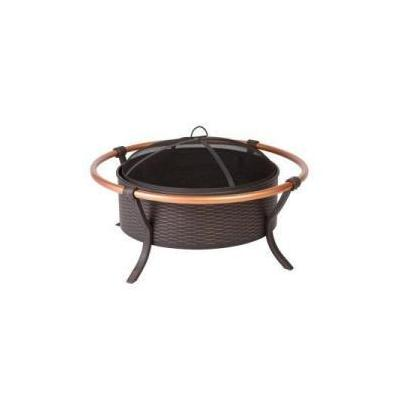 Fire Sense 60859 - Copper Rail Fire Pit: 60859 Fire Pit - Outdoor Heating