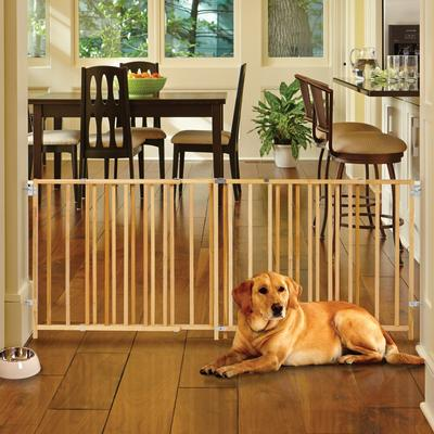 North States My Pet Extra Wide Swing Pet Gate, 60