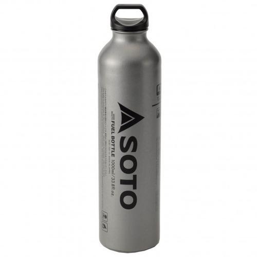 Soto - Benzinflasche für Muka - Brennstoffflasche Gr 1000 ml;400 ml grau