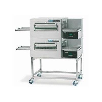 Lincoln 1180-2G 56 Gas Double Stack Conveyor Oven Package Digital Controls