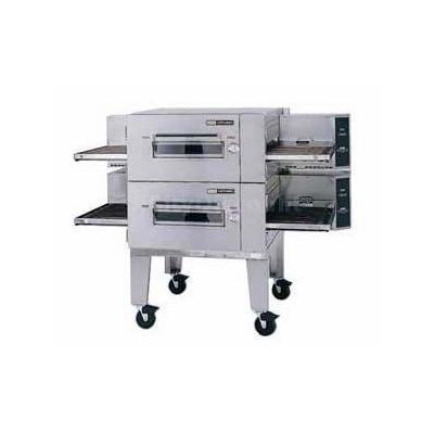 Lincoln 1600-2G Impinger 80 Digital Gas Conveyor Oven Package Double Stack