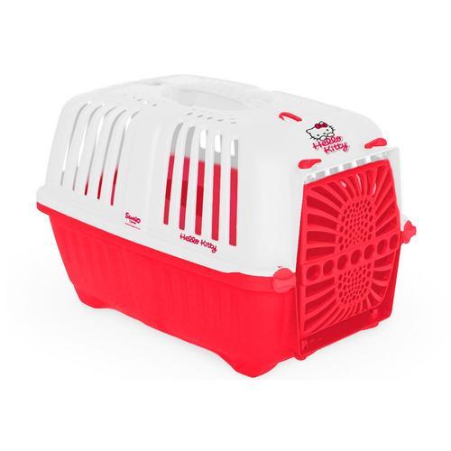 HEIM Tiertransportbox Hello Kitty, BxTxH: 32x31x47 cm rot Katzentransportboxen Katze Tierbedarf
