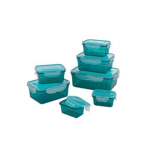 GOURMETmaxx Frischhaltedose, (Set, 7 tlg.) grün Aufbewahrung Küchenhelfer Haushaltswaren Frischhaltedose