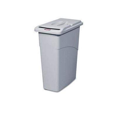 Rubbermaid 9W15 Slim Jim 23 Gallon Confidential Document Container (Rcp9W15Lgy)