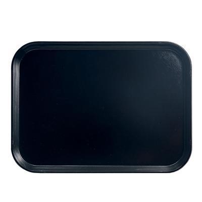 """Cambro 1116110 Fiberglass Camtray? Cafeteria Tray Insert - 15 4/5""""L x 10 4/5""""W, Black"""