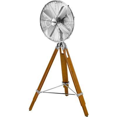 Unold Standventilator 86895, Kiefernholz-Gestell braun Klimageräte, Ventilatoren Wetterstationen SOFORT LIEFERBARE Haushaltsgeräte