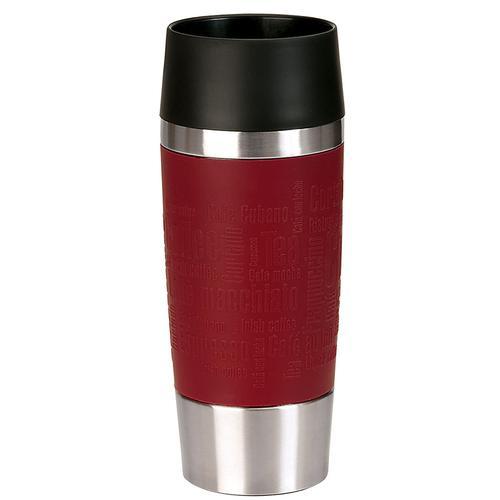 Emsa Thermobecher Travel Mug, (1 tlg.) rot und Coffee to go Geschirr, Porzellan Tischaccessoires Haushaltswaren
