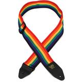 Ernie Ball 2 Polypro Strap - Rainbow