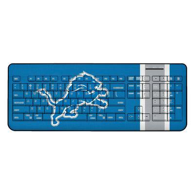 Detroit Lions Stripe Wireless Keyboard