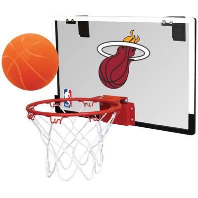 """Rawlings Miami Heat NBA Polycarbonate Hoop Set"""