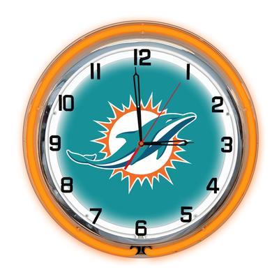 Imperial Miami Dolphins 18'' Neon Clock