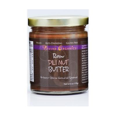 Divine Organics Spreads/Dressings/Dips - Pili Nut Butter - 6 oz (170