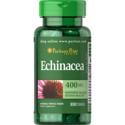 Puritan's Pride 2 Pack of Echinacea 400 mg -100-Capsules
