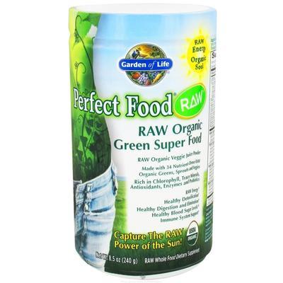 Garden of Life - Perfect Food RAW Organic Green Super Food - 8.5 oz.