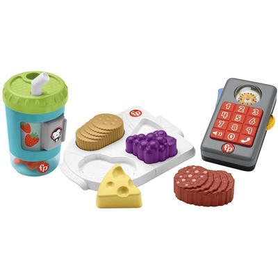 Fisher-Price Greifspielzeug Rollenspiel Motorik-Spielzeug Geschenkset, mit Licht und Sound bunt Kinder Greiflinge Baby Kleinkind