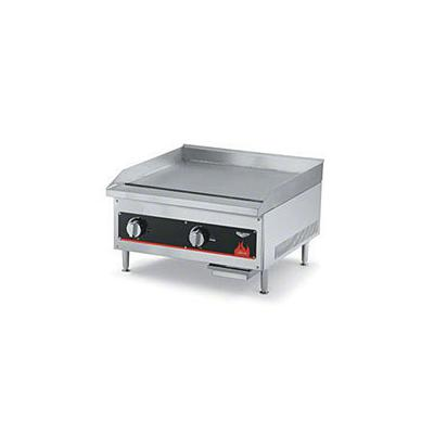 """Vollrath Cayenne Series 24"""" W Flat Top Griddle (40722) - Aluminized Steel"""