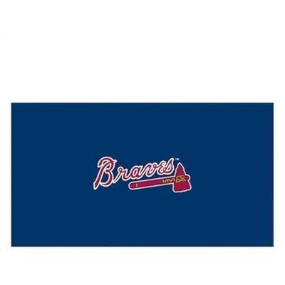 Imperial Officially Licensed MLB Atlanta Braves 8 ft. Pool Table Cloth Kit
