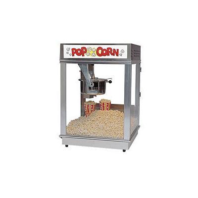Gold Medal Econo 16 Oz. Popcorn Machine (2024ST) - Stainless Steel