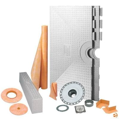 "Schluter Kerdi Shower System Kit 72"" x 72"" Tray"