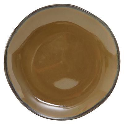 """Tuxton GAJ-002 6 1/2"""" Round Ceramic Plate - Mojave"""