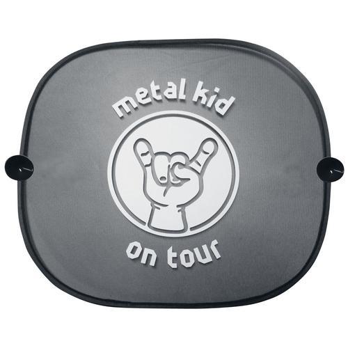 Metal-Kids Sonnenblende - schwarz