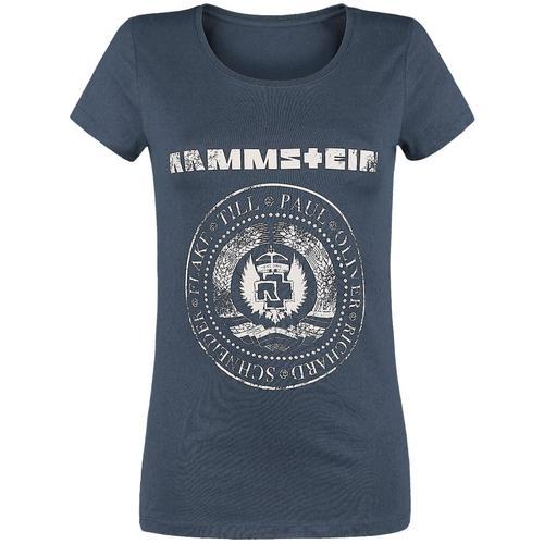 Rammstein Est. 1994 Damen-T-Shirt - navy - Offizielles Merchandise