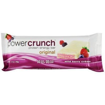 Power Crunch Wild Berry Creme Protein Energy Bar, 1.4 oz, 12ct