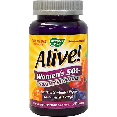 Nature's Way Alive! Women's 50+ Gummy Multi Vitamin-75 Gummies