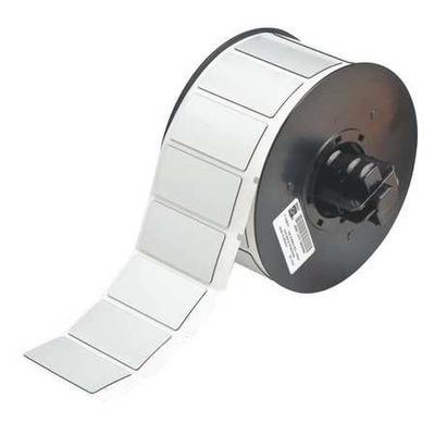 BRADY B30EP-173-593-SL Raised Panel Label, Silver, Labels/Roll: 300