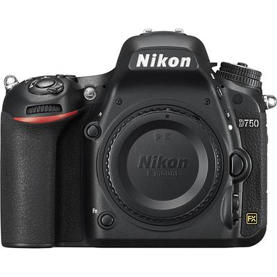 Nikon D750 DSLR Camera (Body Only) - Black