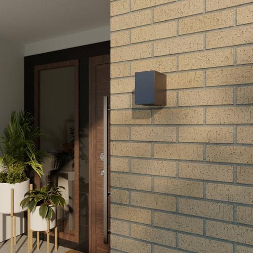 Flexible LED-Außenwandleuchte Lorik
