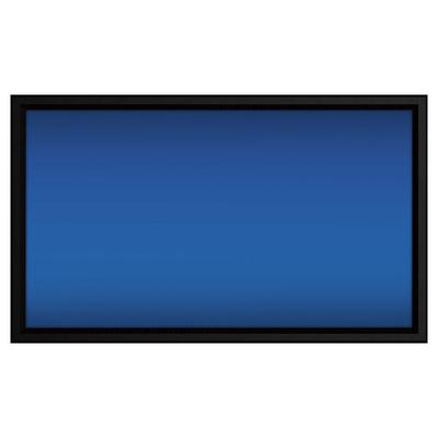 """Screen Innovations 5 Series 110"""" Fixed Projector Screen - Gray/Black"""