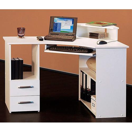 Schreibtisch Sam weiß Eckschreibtische Bürotische und Schreibtische Büromöbel