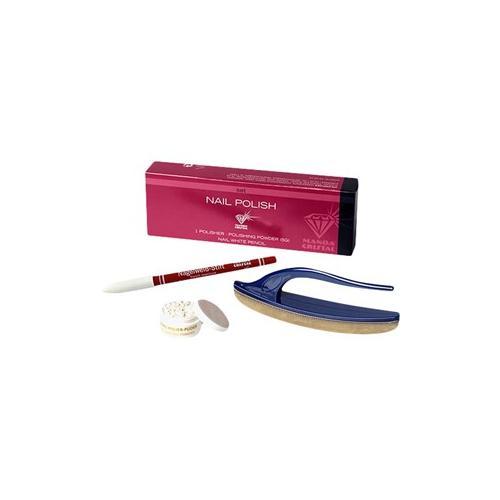 Tana Make-up Nagel Nagel Politur Set Ganz Puder + Wildlederpolierer 1 Stk.
