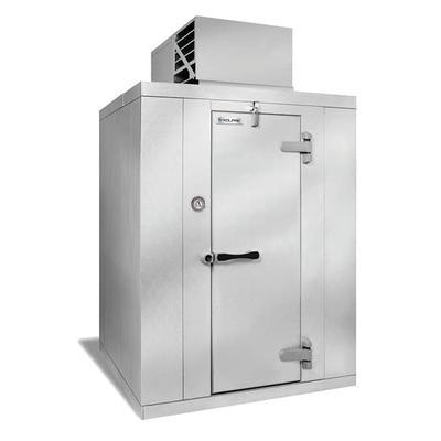 """Kolpak QS7-610-FT R Indoor Walk In Freezer w/ Top Mount Compressor, 5' 10"""" x 9' 8"""""""