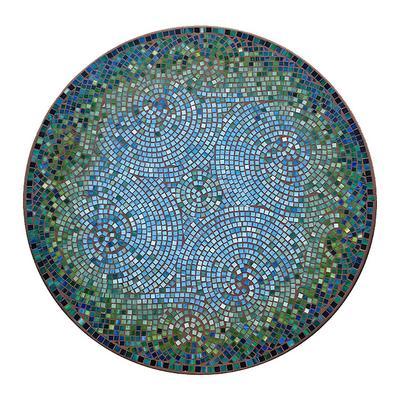 "KNF Belize Round Bistro Table - Black, 54"" Round - Frontgate"