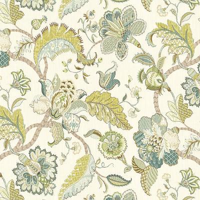 Courtney Spa Fabric by the Yard - Ballard Designs