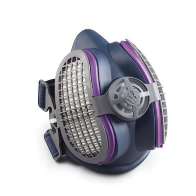 Miller LPR-100 Half Mask Respirator with P100 Filters - SM/MD (ML00894)