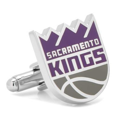 """Sacramento Kings Cufflinks"""