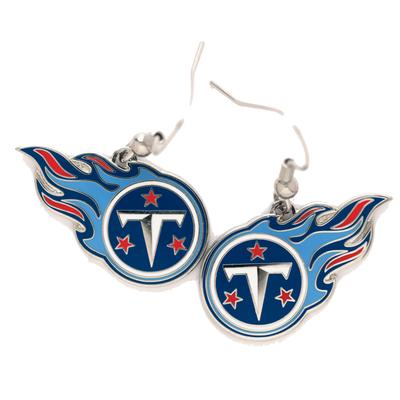 Tennessee Titans Logo Wire Earrings