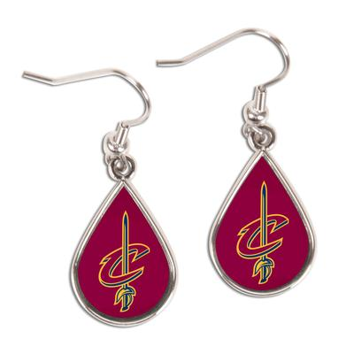 """""""WinCraft Cleveland Cavaliers Tear Drop Dangle Earrings"""""""