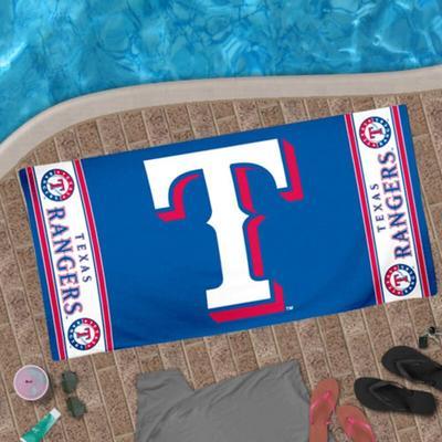 "Texas Rangers WinCraft 30"" x 60"" Team Logo Beach Towel"
