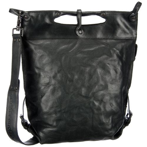 aunts & uncles Handtasche Mrs. Pancake Black Smoke (9.8 Liter)