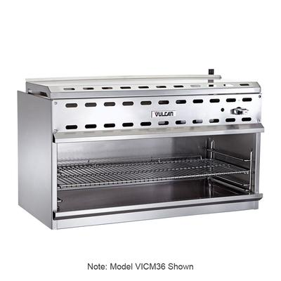 "Vulcan VICM72 72"" Gas Cheese Melter w/ Infrared Burner, Stainless, Natural Gas"